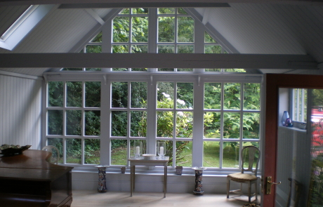 Handmade full height window