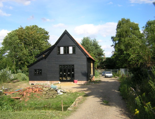 Restored and converted barn